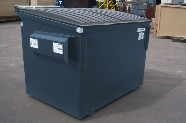 Commercial Trash Bin Sizes : Wyoming waste systems central and southern